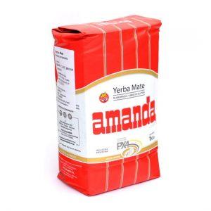 Amanda czerwona - popularna yerba mate